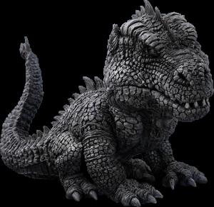 Rhedosaurus Black and White Version Collectible Figure