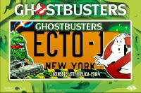 Gallery Image of Ghostbusters ECTO-1 License Plate Replica