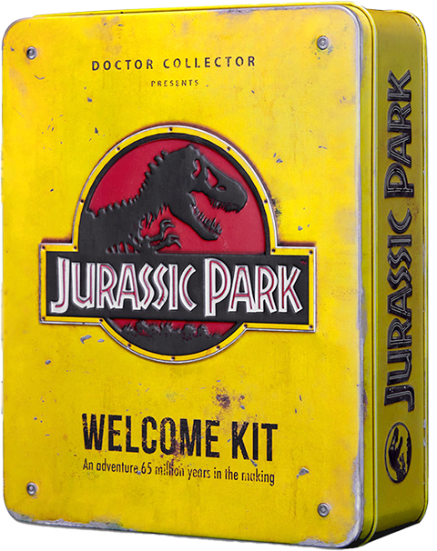 Doctor Collector Jurassic Park Welcome Kit (Standard Edition) Collectible Set