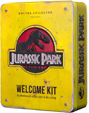 Jurassic Park Welcome Kit (Standard Edition) Collectible Set