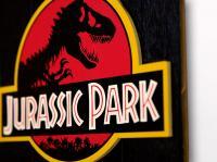 "Gallery Image of Jurassic Park WOODART 3D ""1993 Art"" Wood Wall Art"