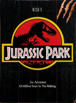 """Jurassic Park WOODART 3D """"1993 Art"""" Wood Wall Art"""