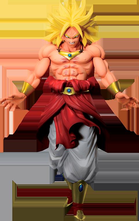 Bandai Super Saiyan Broly '94 (Back To The Film) Statue