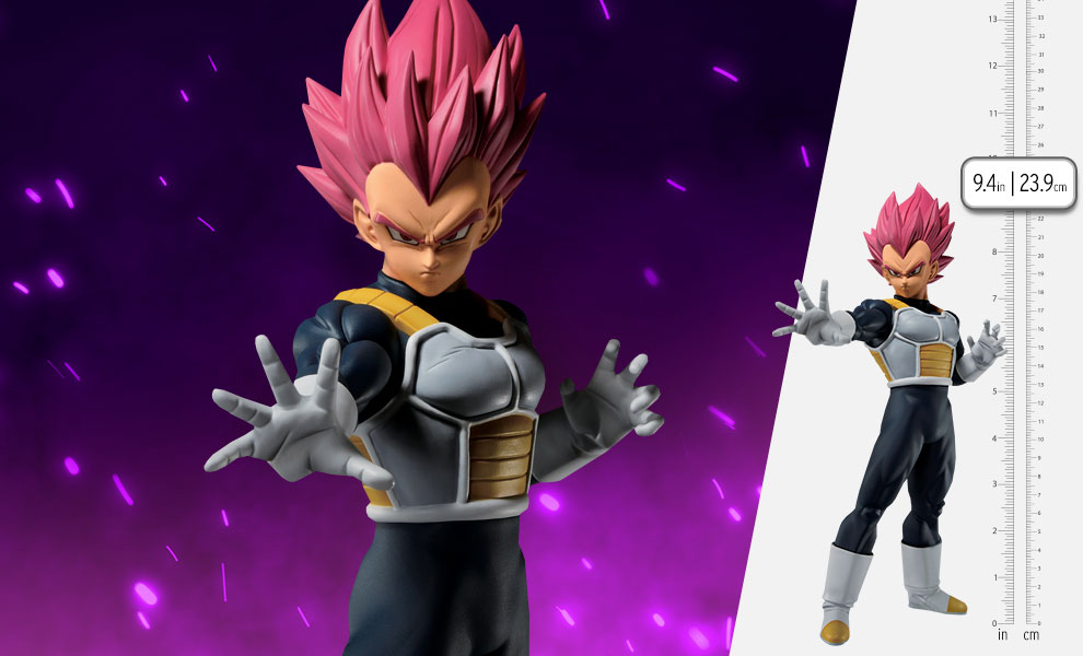 Gallery Feature Image of Super Saiyan God Vegeta (Back To The Film) Statue - Click to open image gallery
