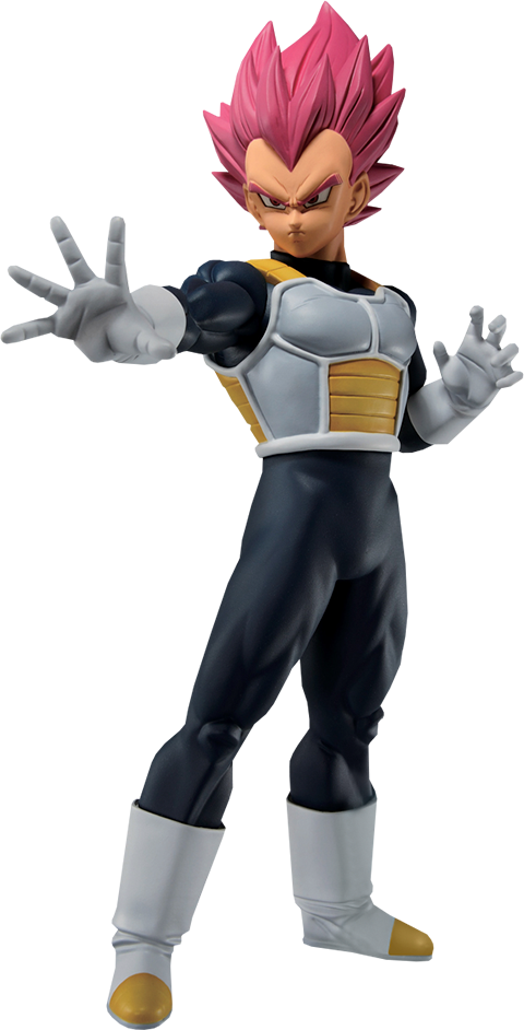 Bandai Super Saiyan God Vegeta (Back To The Film) Statue