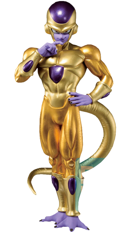 Bandai Golden Frieza (Back To The Film) Statue