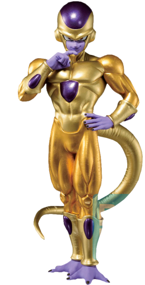 Golden Frieza (Back To The Film) Statue