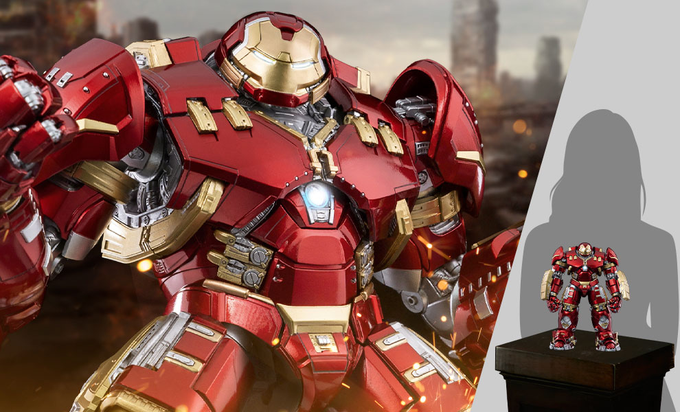 Gallery Feature Image of DLX Iron Man Mark XLIV Hulkbuster Collectible Figure - Click to open image gallery