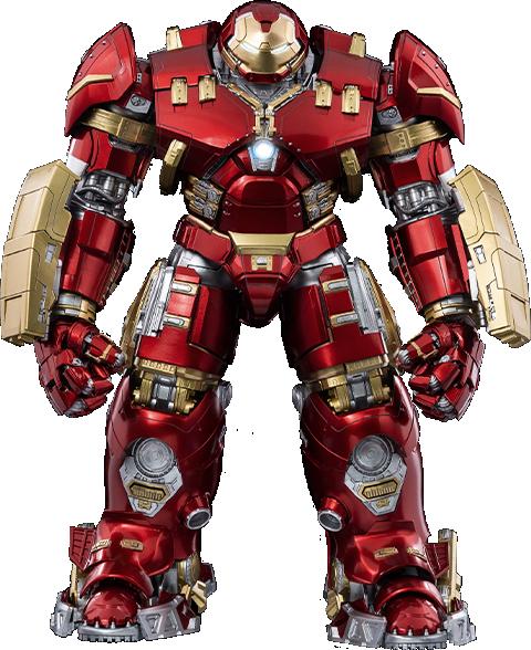 Threezero DLX Iron Man Mark XLIV Hulkbuster Collectible Figure