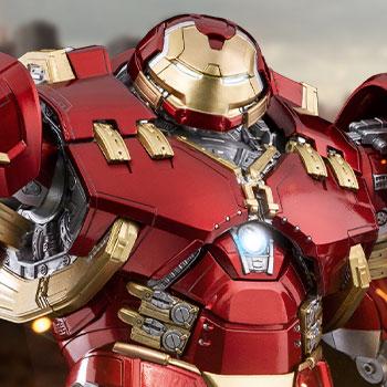 DLX Iron Man Mark XLIV Hulkbuster Collectible Figure