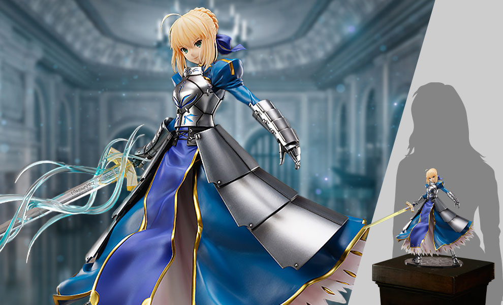 Gallery Feature Image of Saber/Altria Pendragon (Second Ascension) Collectible Figure - Click to open image gallery