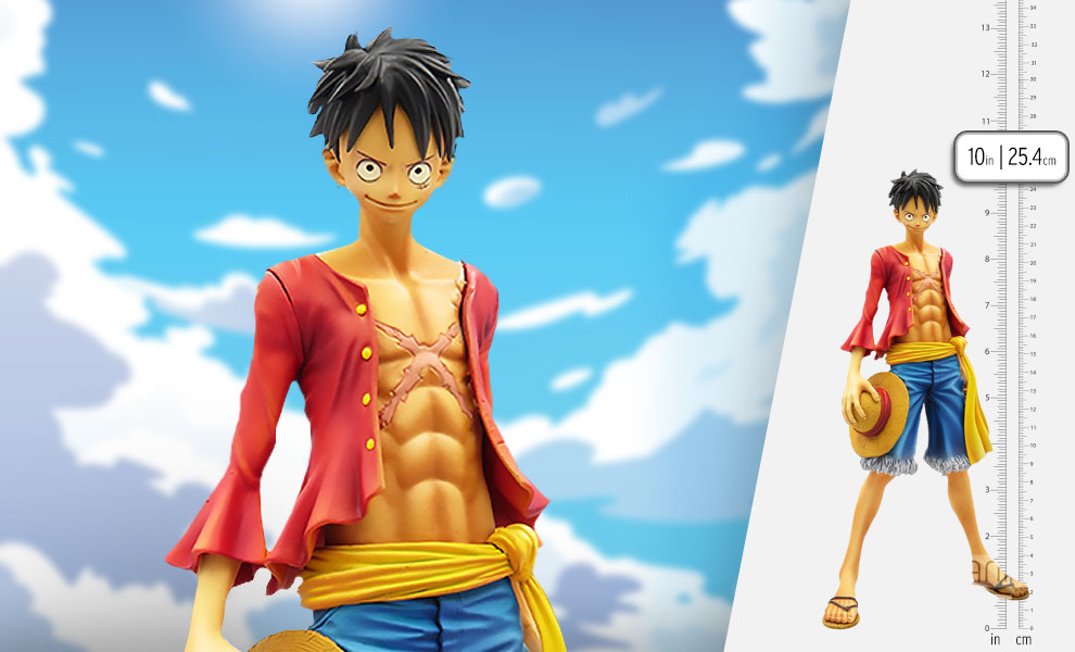 Gallery Feature Image of Monkey D. Luffy Collectible Figure - Click to open image gallery