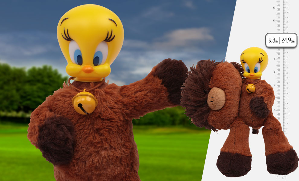 Gallery Feature Image of Tweety Highland Cow Plush Collectible Figure - Click to open image gallery