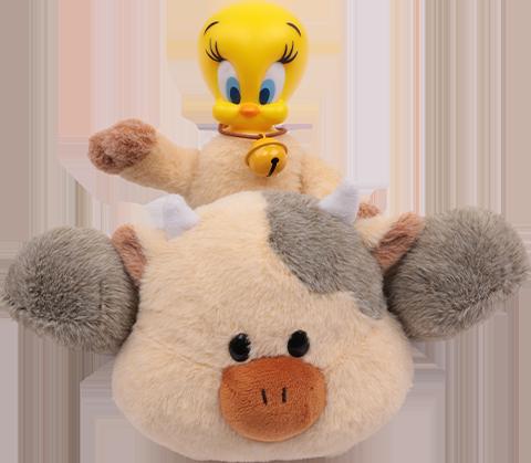 Soap Studio Tweety Dairy Cow Plush Collectible Figure