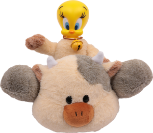 Tweety Dairy Cow Plush Collectible Figure