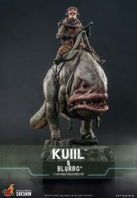 Gallery Image of Kuiil™ & Blurgg™ Sixth Scale Figure Set