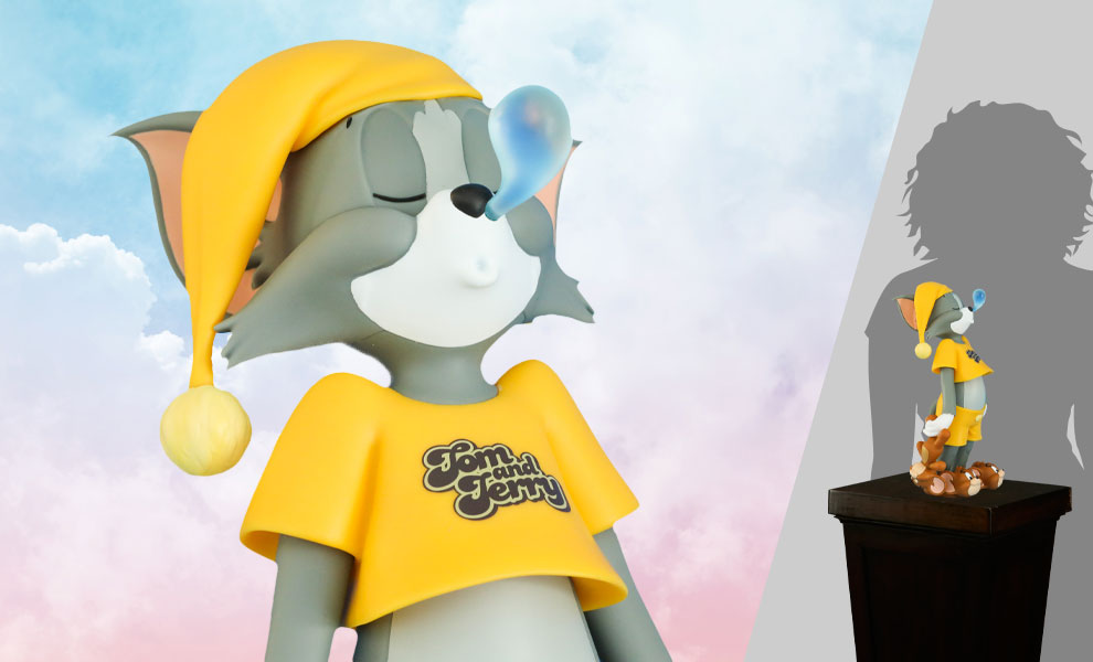 Gallery Feature Image of Tom & Jerry Catnap Collectible Figure - Click to open image gallery