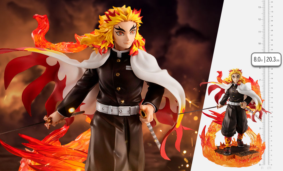 Gallery Feature Image of Rengoku Kyoujurou Statue - Click to open image gallery