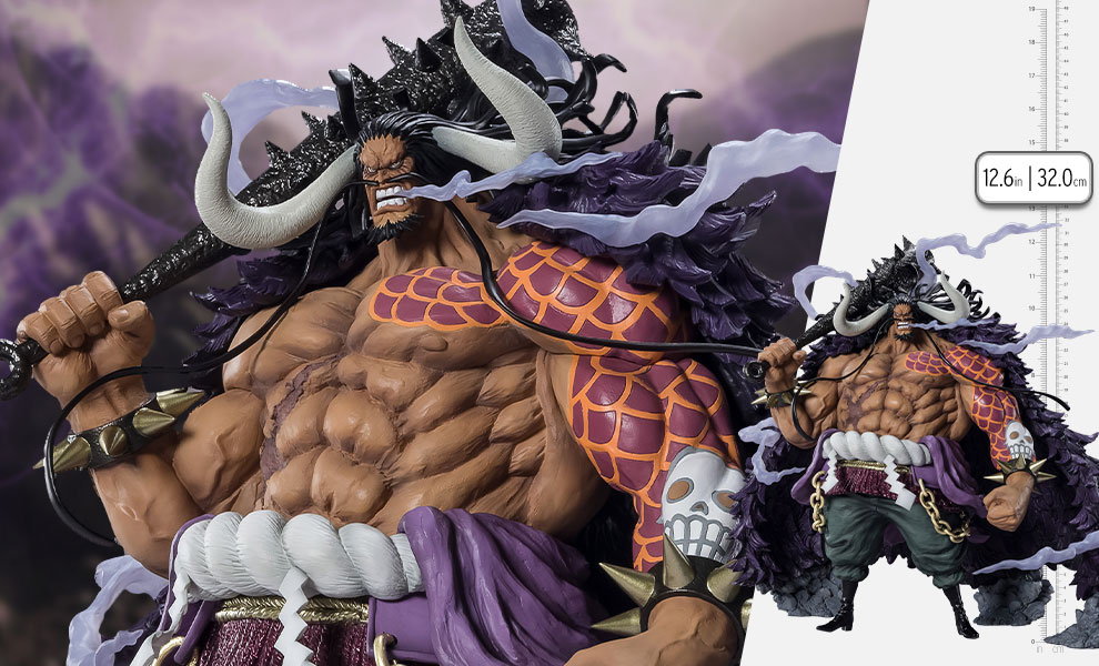 Gallery Feature Image of Kaido King of the Beasts (Extra Battle) Collectible Figure - Click to open image gallery
