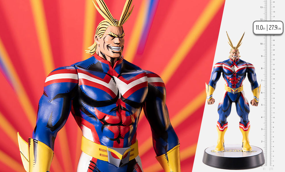 Gallery Feature Image of All Might (Golden Age) Statue - Click to open image gallery