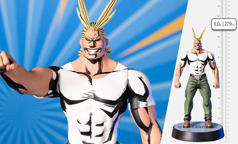Gallery Feature Image of All Might (Casual Wear) Statue - Click to open image gallery