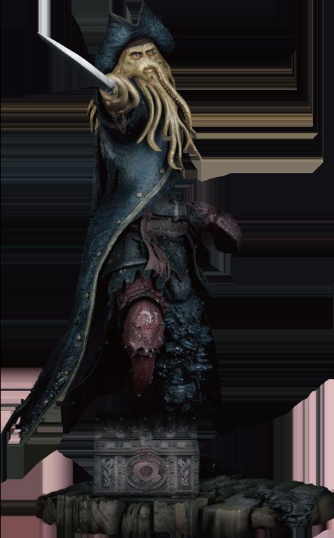 Beast Kingdom Davy Jones Polystone Statue