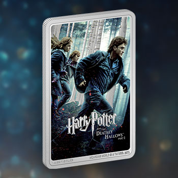 Harry Potter and the Deathly Hallows Part 1™ 1oz Silver Coin Silver Collectible