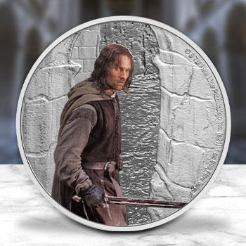 Aragorn 1oz Silver Coin Silver Collectible