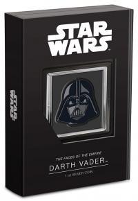 Gallery Image of Darth Vader™ 1oz Silver Coin Silver Collectible