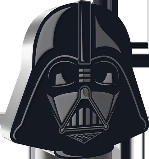 New Zealand Mint Darth Vader™ 1oz Silver Coin Silver Collectible