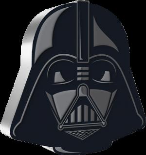 Darth Vader™ 1oz Silver Coin Silver Collectible