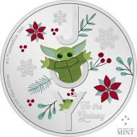 Gallery Image of Star Wars Season's Greetings Silver Collectible