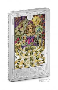 Gallery Image of The High Priestess Silver Coin Silver Collectible