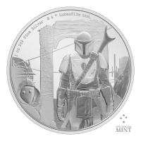 Gallery Image of The Mandalorian™ Classic 1oz Silver Coin Silver Collectible