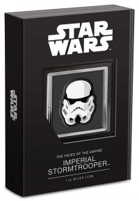 Gallery Image of Imperial Stormtrooper Silver Collectible