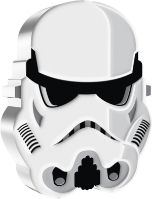 Imperial Stormtrooper Silver Collectible