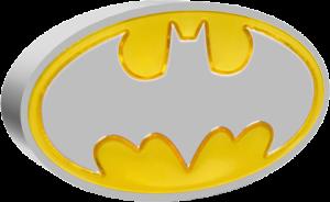 Batman Logo 1oz Silver Coin Silver Collectible