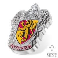 Gallery Image of Gryffindor Crest 1oz Silver Coin Silver Collectible