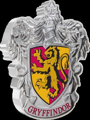 Gryffindor Crest 1oz Silver Coin Silver Collectible