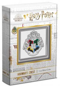 Gallery Image of Hogwarts Crest 1oz Silver Coin Silver Collectible