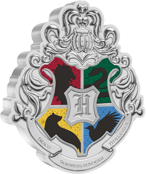 New Zealand Mint Hogwarts Crest 1oz Silver Coin Silver Collectible