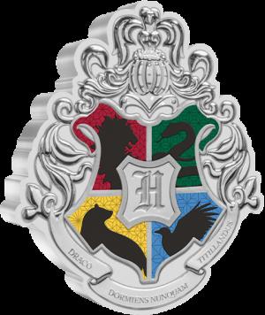 Hogwarts Crest 1oz Silver Coin Silver Collectible