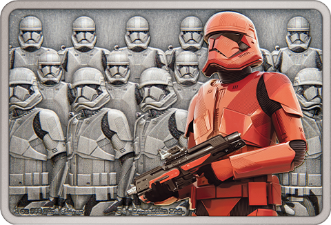 New Zealand Mint Sith Trooper 1oz Silver Coin Silver Collectible