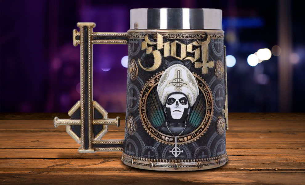 Gallery Feature Image of Ghost Gold Meliora Tankard Collectible Drinkware - Click to open image gallery