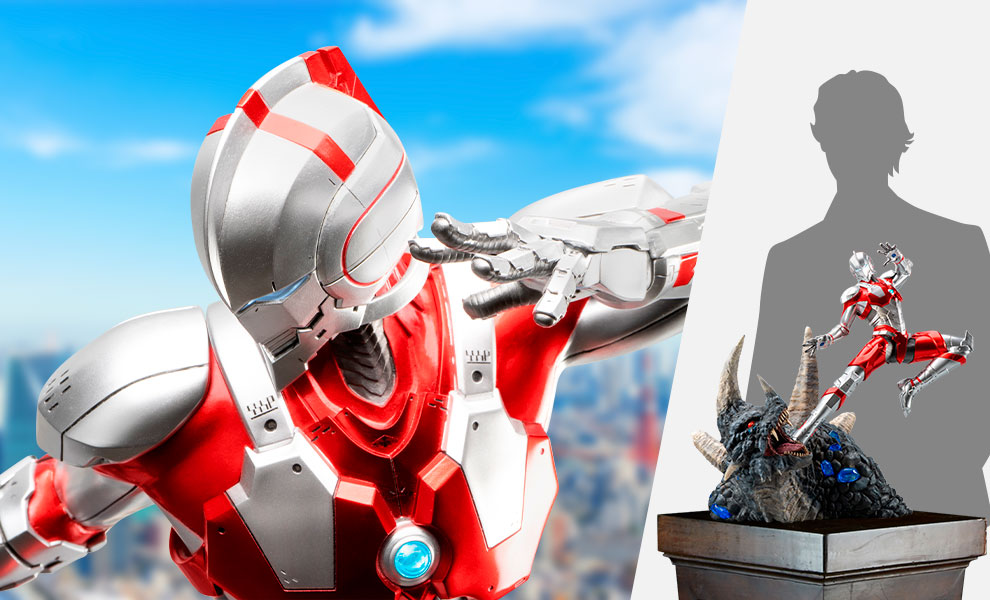 Gallery Feature Image of Ultraman vs Black King Statue - Click to open image gallery