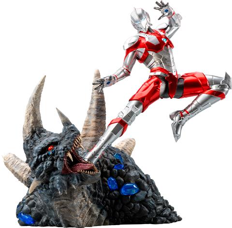 PureArts Ultraman vs Black King Statue