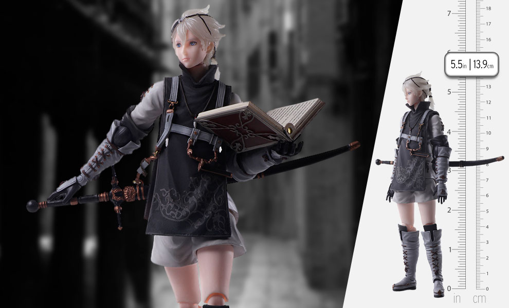Gallery Feature Image of Young Protagonist Action Figure - Click to open image gallery