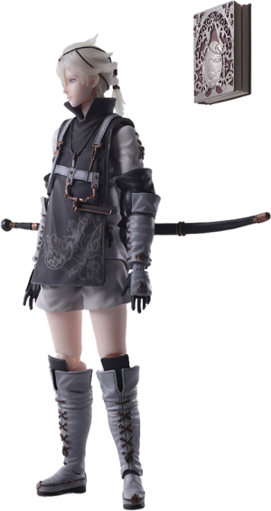 Young Protagonist Action Figure