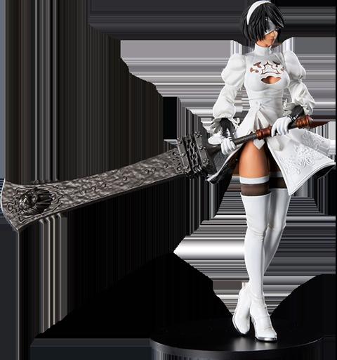 Square Enix 2B (YoRHa No.2 Type B) 2P Color Version Statuette