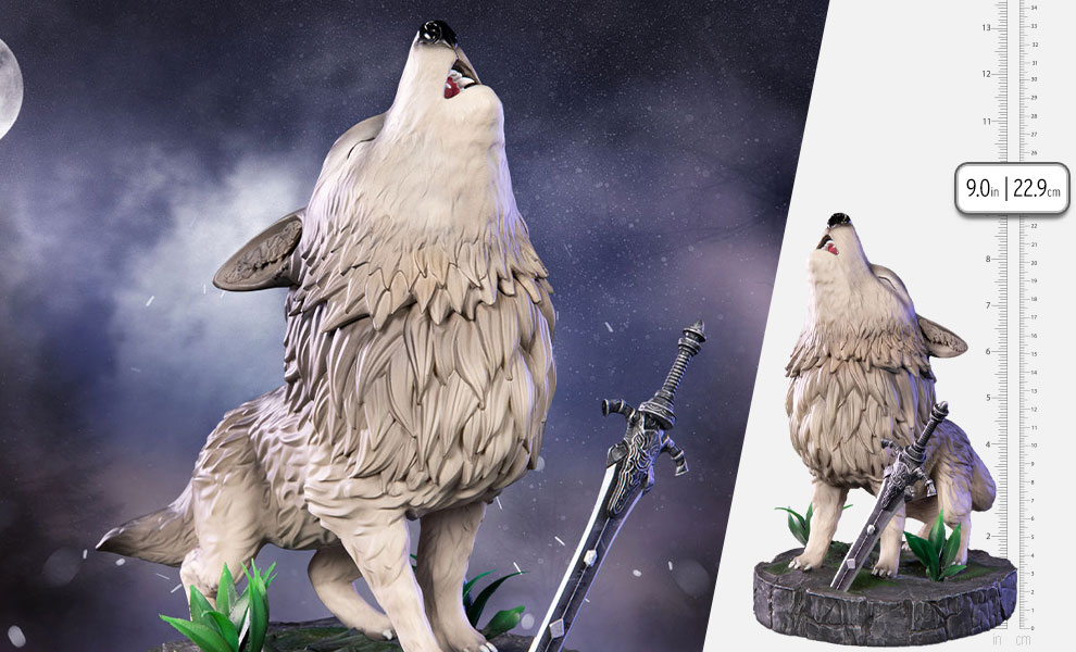 Gallery Feature Image of The Great Grey Wolf Sif Statue - Click to open image gallery